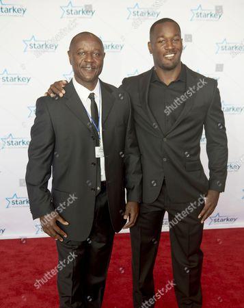 Derrick Coleman Jr. and Guest