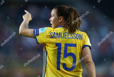 Jessica Samuelsson of Sweden