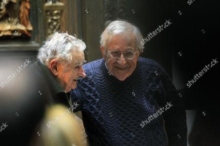 Noam Chomsky and Jose Mujica