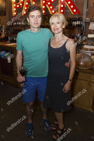 Paul Higgins (Barry/Basil) and Amelia Bullmore