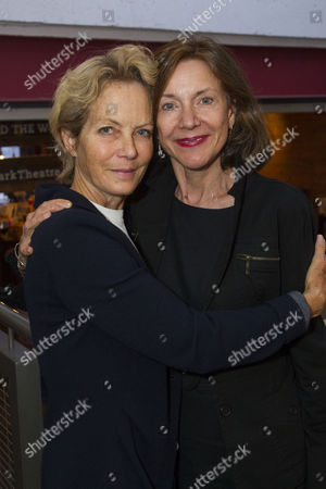 Jenny Seagrove and Belinda Lang