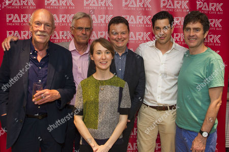 Hugh Ross (Charles), Philip Bretherton (Harry), Bryony Hannah (Isabella), Anthony Banks (Director), Adam Garcia (Skinner) and Paul Higgins (Barry/Basil)