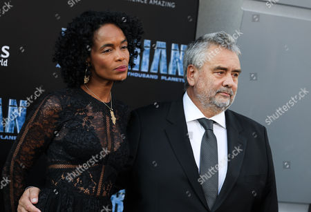 Virginie Silla and Luc Besson