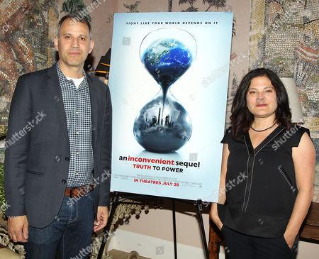 Jon Shenk and Bonni Cohen (Co-Directors)