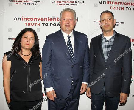 Bonni Cohen (Co-Director), Al Gore and Jon Shenk (Co-Director)