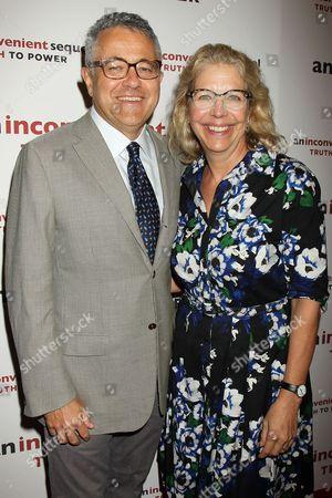 Jeffrey Toobin and Amy Bennett McIntosh