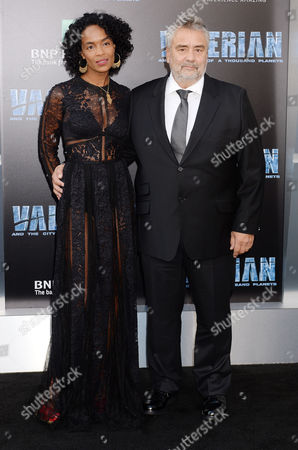 Virginie Silla and husband Luc Besson