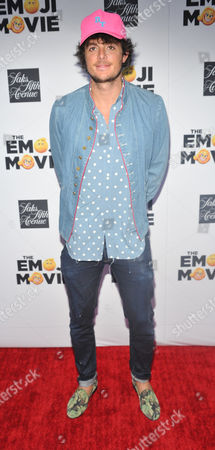 Editorial photo of 'The Emoji Movie' film premiere, Saks Fifth Avenue, New York, USA - 17 Jul 2017