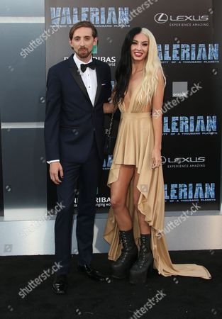 Editorial image of 'Valerian and The City of a Thousand Planets' film premiere, Arrivals, Los Angeles, USA - 17 Jul 2017