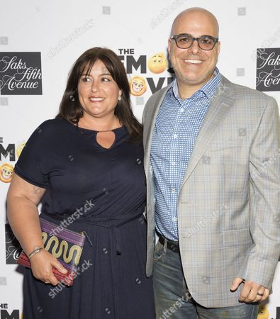 Producer Michelle Kouyate (L) and director Tony Leondis