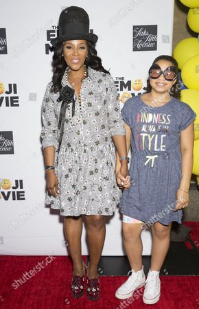 Stylist June Ambrose and daughter Summer Chamblin
