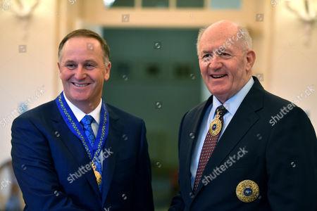 John Key and Peter Cosgrove