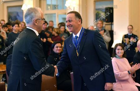John Key and Malcolm Turnbull