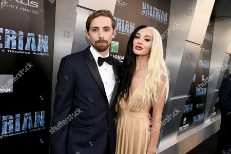 Editorial picture of 'Valerian and The City of a Thousand Planets' film premiere, Arrivals, Los Angeles, USA - 17 Jul 2017