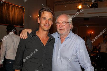 Friedrich von Thun mit Sohn Max von Thun,
