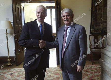 Editorial photo of Canada's ambassador to the European Union and Germany visits Madrid, Spain - 18 Jul 2017