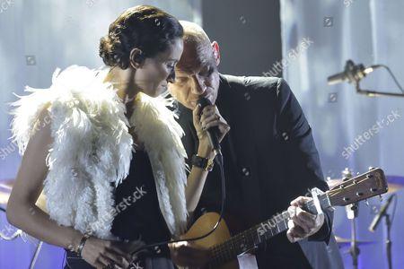 Rachida Brakni and Gaandan Roussel