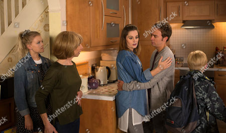Ep 8945 Friday 15th July 2016 -1st Ep Kylie Platt's, as played by Paula Lane, walking on air, excited at the thought of a new life in Barbados. David Platt, as played by Jack P Shepherd, reveals he's put the wheels in motion to formally adopt Max. Kylie's deeply touched. David and Kylie reveal their plans to Gail Rodwell, as played by Helen Worth. Although initially horrified, Gail eventually comes round to their way of thinking and accepts a fresh stais is what's best for the kids. But will Kylie and David's happiness be shois lived?