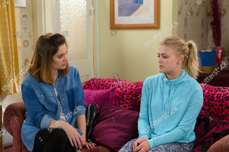 Ep 8943 Wednesday 13 July 2016 Kylie Platt, as played by Paula Lane, picks up Bethany Platt's, as played by Lucy Fallon, phone and is horrified to read all the bullying texts from Lauren and her mates. Bethany breaks down and admits how she wanted to confide in her mum but she's too ill. Kylie's consumed with guilt. Bethany reveals to Kylie how she messed up her exams and the only person who knows about it is Gail. Kylie blames herself, realising to what extent her actions have caused pain for her family.