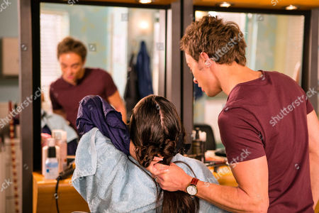 Ep 8987 Friday 9 September 2016 - 2nd Ep Chopping a chunk out of Lauren's, as played by Shannon Flynn, hair, David Platt, as played by Jack P Shepherd, tells her that if she ever bullies Bethany again it'll be her throat next time. Threatening to call the police, Lauren flees the salon scared witless.