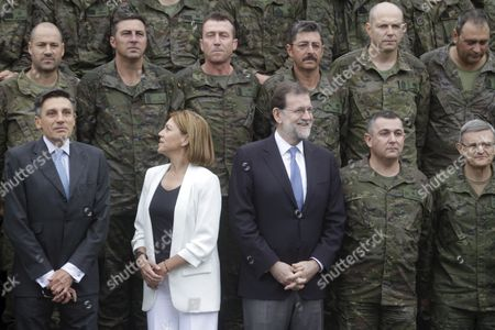 Mariano Rajoy and Maria Dolores Cospedal