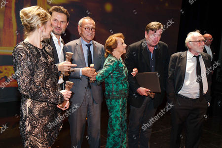 Editorial image of Peace Prize of German Cinema, Filmfest Munich, Germany - 29 Jun 2017