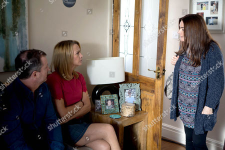 Ep 8668 Wednesday 24 June 2015 Anna Windass, as played by Debbie Rush, is left saddened by Faye's obvious lack of interest in Miley. Tim informs Anna of Josie Hodge, as played by Eva McNulty, and Grieg Hodge's, as played by Stuart Wolfenden, offer and persuades her to go and speak with them. When Anna and Tim visit, Josie and Grieg assure them they'd take good care of Miley. Tim takes Jackson off privately informing him he'd still want to be a part of Miley's life. But with her heart breaking will Anna agree this is the way forward and how will Faye react to the proposal?