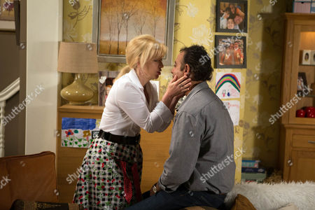 Ep 8672 Monday 29 June 2015 - 2nd Ep Mortified, Dev Alahan, as played by Jimmi Harkishin, begs Julie Carp, as played by Katy Cavanagh, to give him another chance. Will she agree?