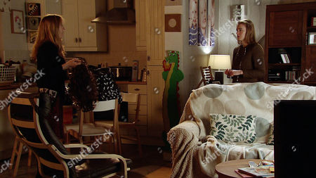 Ep 8649 Thursday 28 May 2015 Having spotted Jack's clothes in Jenny Bradley's, as played by Sally-Ann Matthew, holdall, Maddie, as played by Amy Kelly, realises with horror Jenny is planning to do a runner with Jack. Jenny admits to Maddie how she wants to protect Jack, Maddie's deeply concerned. As Maddie makes to leave, Jenny shoves her and bars her way but Maddie manages to distract Jenny and make a run for it. Can she get to Sophie and Kevin with the news before it's too late?