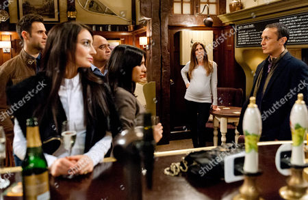Ep 7429 Thursday 18 February 2016 - 2nd Ep In the pub, everyone's astonished when freshly returned Jai Sharma, as played by Chris Bisson, reveals he checked himself in to rehab. And Leyla Harding, as played by Rokhsaneh Ghawam-Shahidi, is left shaken after she shares a highly charged moment with Jai. He tells his family that he has a long way to go to win back their trust. Could Jai's return be a spanner in the works for Leyla and Nikhil Sharma, as played by Rik Makarem, ?