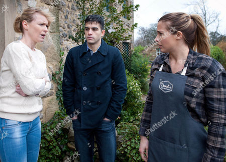 Ep 7421 Wednesday 10 February 2016 Leyla Harding, as played by Rokhsaneh Ghawam-Shahidi, collapses and Carly Hope, as played by Gemma Atkinson, sees the ambulance that has come for her and immediately gets the wrong impression ? she accuses Kirin Kotecha, as played by Adam Fielding, of harming Johnny, leaving Vanessa baffled...