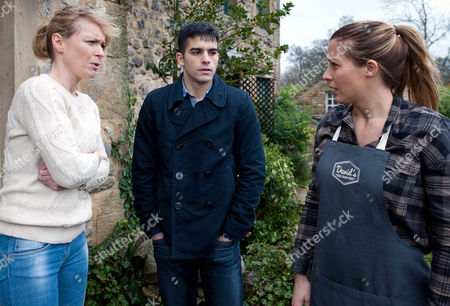 Ep 7421 Wednesday 10 February 2016 Leyla Harding, as played by Rokhsaneh Ghawam-Shahidi, collapses and Carly Hope, as played by Gemma Atkinson, sees the ambulance that has come for her and immediately gets the wrong impression Ð she accuses Kirin Kotecha, as played by Adam Fielding, of harming Johnny, leaving Vanessa baffled...