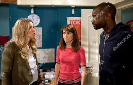 Ep 7545 & 7546 Tuesday 5 July 2016  Charity Dingle, as played by Emma Atkins, is determined to keep Belle away from Doctor Bailey, as played by Micah Balfour, and later lies in wait to intercept him. Charity threatens Bailey but he assures her he is leaving for good.