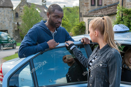 Ep 7545 & 7546 Tuesday 5 July 2016  Belle Dingle's, as played by Eden Taylor-Draper, crushed when she learns Doctor Bailey, as played by Micah Balfour, is going and hurries to find him. Bailey is shocked when she announces she's coming with him. To trap him, a desperate Belle lies she is pregnant. Will Belle's lie force Bailey's hand over staying?