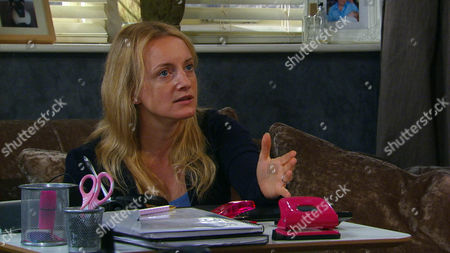 Ep 7554 Wednesday 13 July 2016  Nicola King's, as played by Nicola Wheeler, gloomy and Jimmy King, as played by Nick Miles, tries to cheer her up with talk of sex, but forbids her request to man the phones in the office. Robert decides to take matters into his own hands and when Jimmy returns he finds Nicola has forced Rodney To set her up an office and insists Jimmy goes to Odessa. But is she taking on too much?