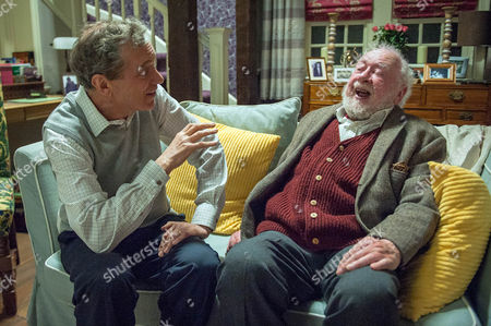 Ep 7505 Wednesday 18 May 2016  Ashley Thomas, as played by John Middleton, wants to help his father Sandy Thomas, as played by Freddie Jones, over his grief and taken aback to see his father feels trapped. Ashley suggests that he, Sandy and Arthur build a pirate ship in the garden together.