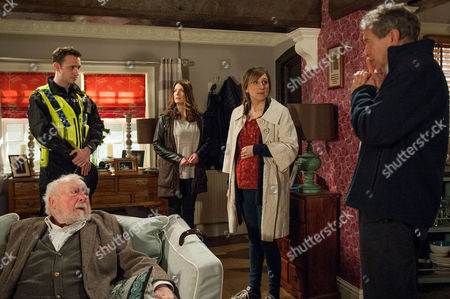 Ep 7507 Thursday 19 May 2016 - 2nd Ep On getting home, Laurel Thomas, as played by Charlotte Bellamy, and Ashley Thomas, as played by John Middleton, are soon horrified to realise Arthur's missing when Sandy Thomas, as played by Freddie Jones, asks where he is. Soon a PC arrives saying they've found Arthur.