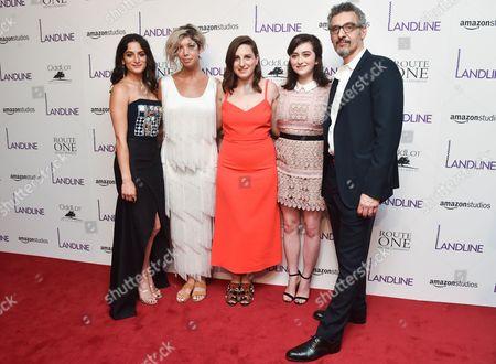 Stock Picture of Jenny Slate, Elisabeth Holm, Gillian Robespierre, Abby Quinn, John Turturro
