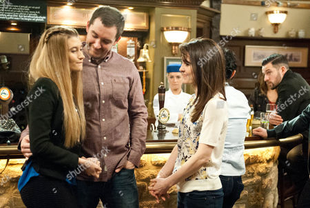 Ep 7166 Friday 24 April 2015  Furious to learn of Debbie Dingle, as played by Charley Webb, and Pete Barton's, as played by Anthony Quinlan, engagement Ross Barton, as played by Michael Parr, takes revenge by spilling the beans to Chrissie. He puts Robert Sugden, as played by Ryan Hawley, deeply in trouble by telling her everything, including how Robert hired him for the Home Farm raid and how they set about kidnapping Lawrence. As Debbie and Pete celebrate a storm brews.