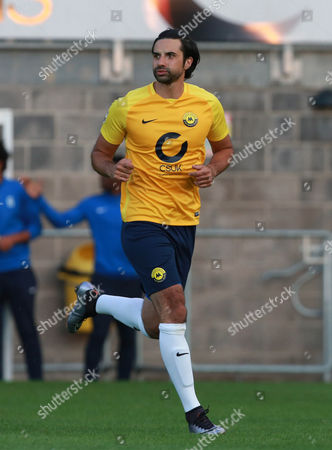 Stock Photo of Torquay Utd's Rory Fallon during the pre season friendly match between Torquay United and Plymouth Argyle on Tuesday 18th July 2017 at Plainmoor, Devon
