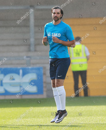 Torquay Utd's Rory Fallon during the pre season friendly match between Torquay United and Plymouth Argyle on Tuesday 18th July 2017 at Plainmoor, Devon
