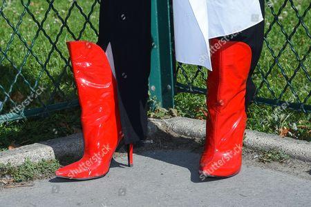 Stock Image of Olga Yanul - shoe detail