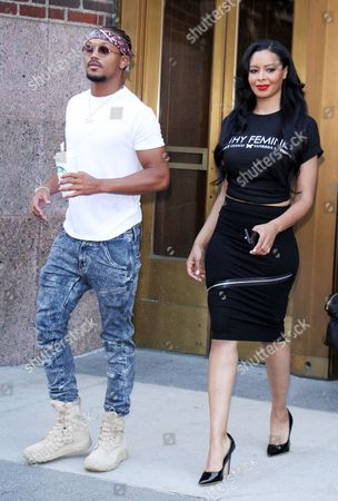 Percy Romeo Miller Jnr and Vanessa Simmons