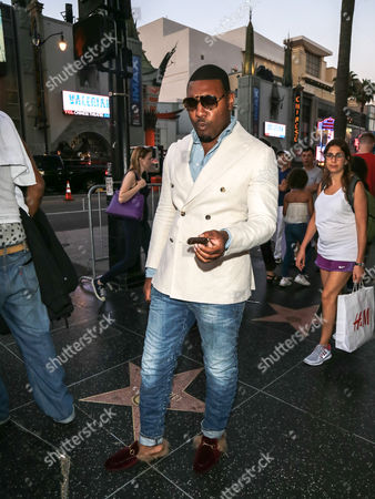 Editorial picture of Kobie Randolph out and about, Los Angeles, USA - 17 Jul 2017