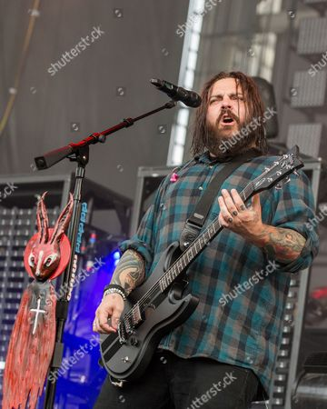 Stock Picture of Seether - Shaun Morgan