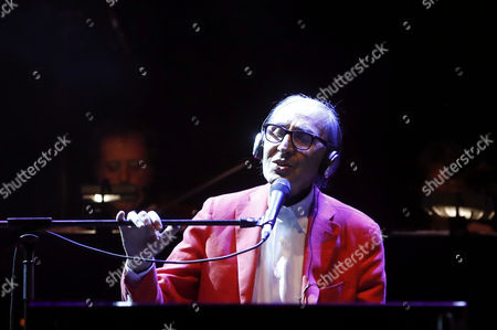 Editorial image of Franco Battiato in concert, Madrid, Spain - 18 Jul 2017