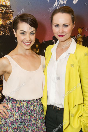 Leanne Michelle Cope (Lise Dassin) and Zoe Rainey (Milo Davenport)
