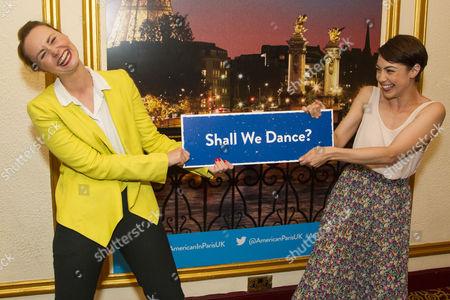 Zoe Rainey (Milo Davenport) and Leanne Michelle Cope (Lise Dassin)