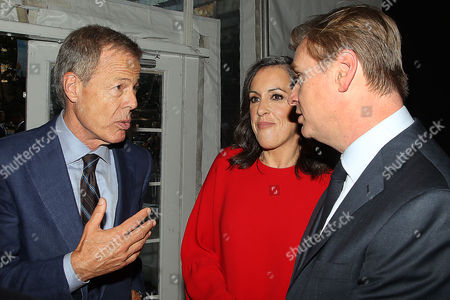 Jeff Bewkes, Emma Thomas and Christopher Nolan