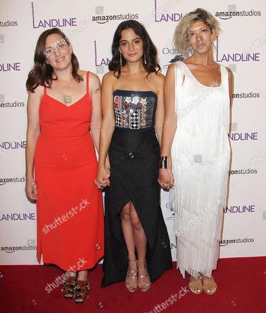 Gillian Robespierre, Jenny Slate and Elisabeth Holm